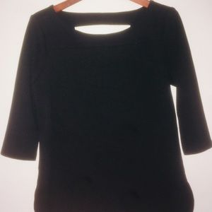 Black Business Casual Long Sleeve Shirt